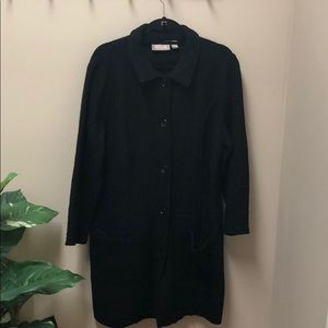 Jackets & Blazers - Black Chico's Coat